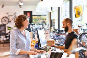 Konzept Einzelhandel