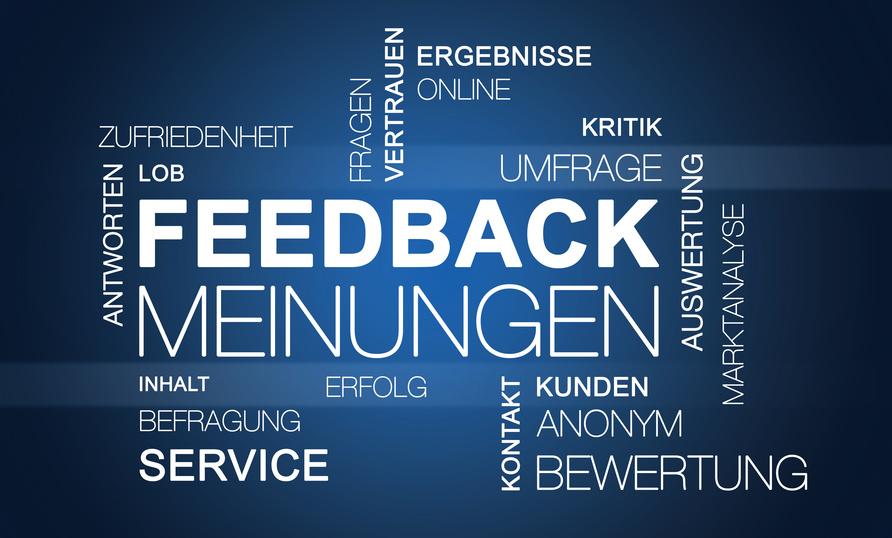 Kundenumfrage im Onlineshop