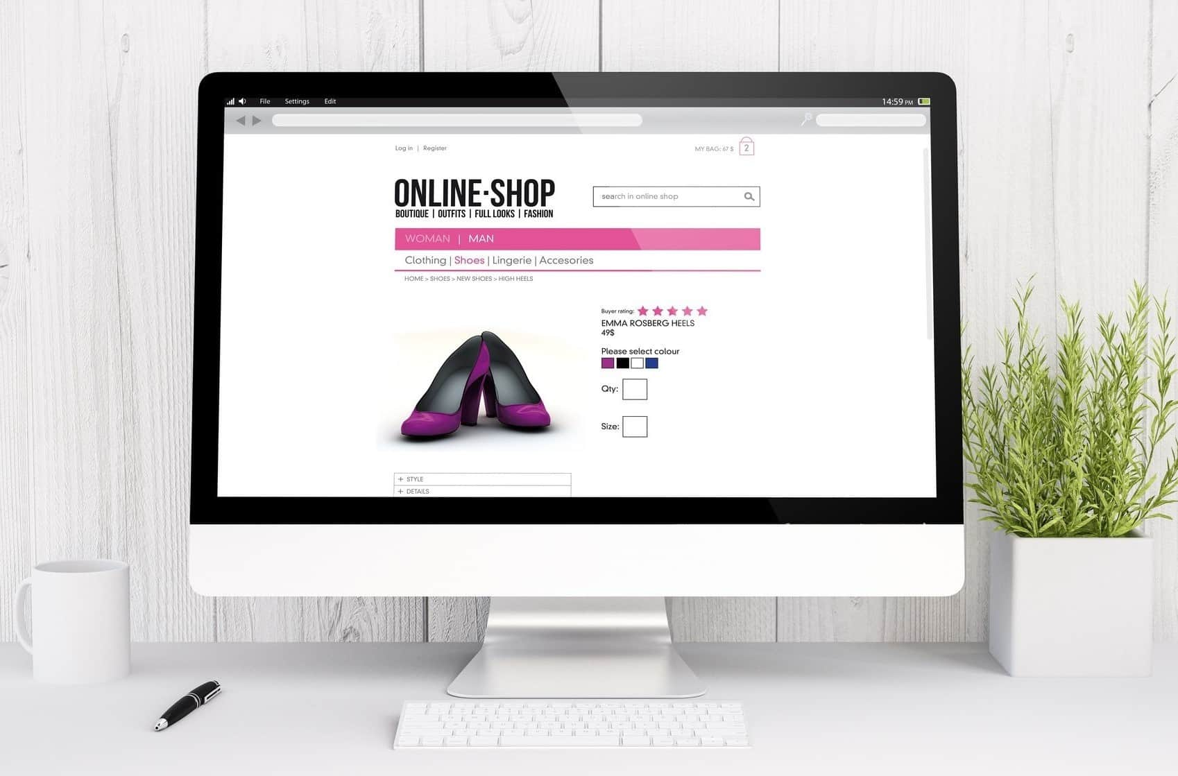 Template Online Shop